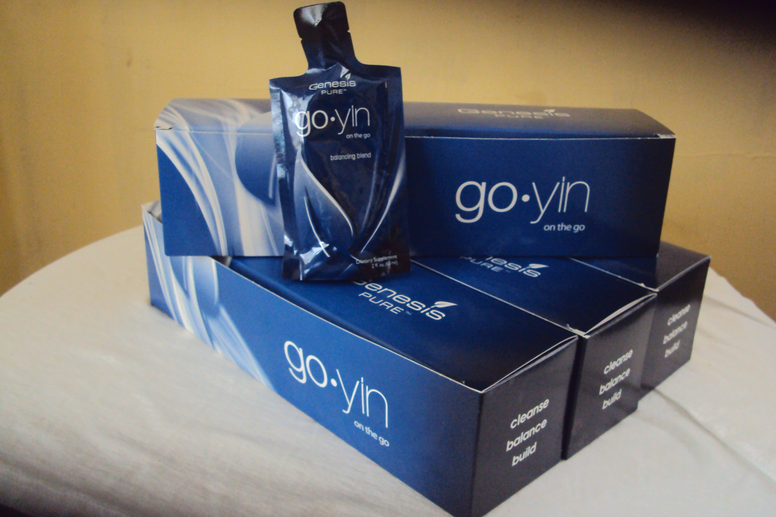 4 Boxes,Genesis pure Go-Yin On The Go