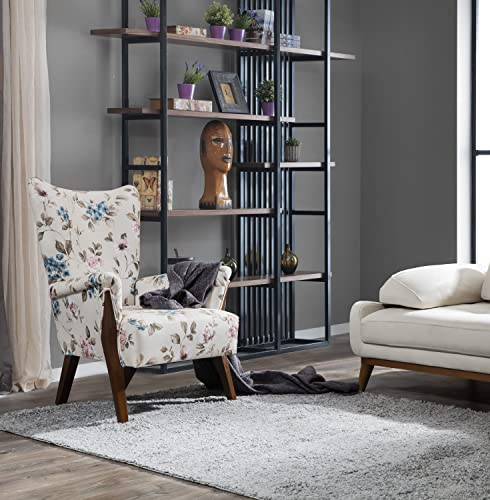 Perla Furniture Shaggy Grey 3×5 Area
