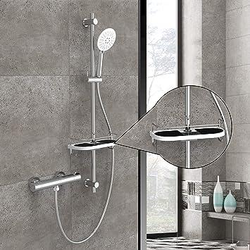 Set de Ducha Termostática con grifo ducha termostatica | 3-Función ...