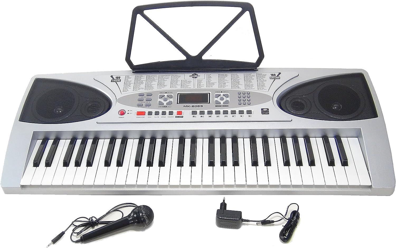 Keyboard DynaSun MK2069 54 Tasten Key Lighted LCD Lernfunktion mit Support