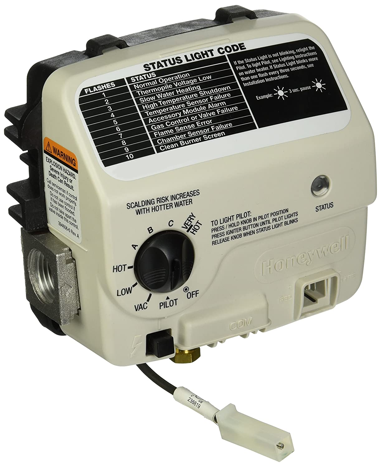 Average Cost Of Water Heater American Water Heater 6911128 Honeywell Replacement Gas Valve