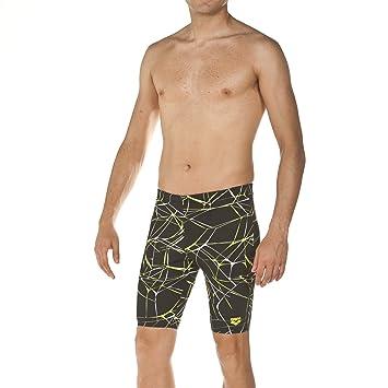 arena Herren Trainings Badehose Slip Solid Schnelltrocknend, UV-Schutz UPF 50+, Kordelzug, Chlorresistent