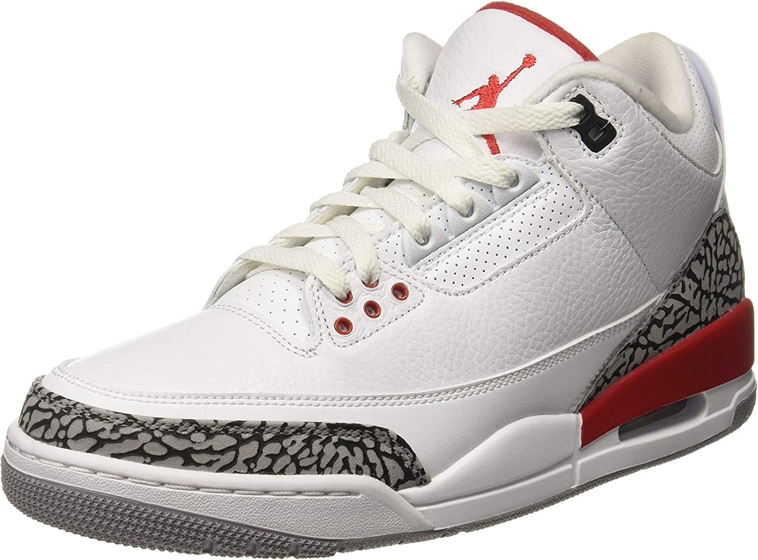 Romance Planificado Más bien  Amazon.com | AIR JORDAN 3 Retro 'Katrina' - 136064-116 - Size | Basketball