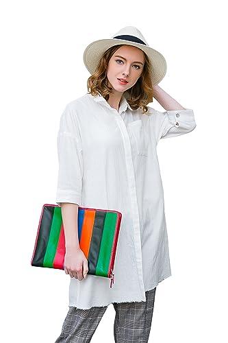 YOU.U Mujer Casual Camiseta Oversized Larga Y Corta (Haga Clic Para Ver Todos Los Modelos)