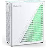 Elechomes Air Purifier with True HEPA Filter, Air Quality Monitor with Dust and Smell Sensors, Air Cleaner Filter Odor Eliminator for Large Room, Allergies, Dust, Smoke, Pets, UC3101