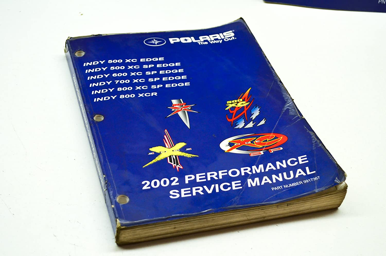 Amazon.com: Polaris Manual Svc 02 Xc/Xc Sp/800 Xcr 9917367 New OEM:  Automotive