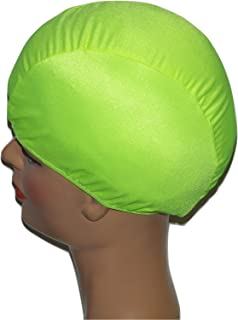 product image for Toddler Chartreuse Lycra Swim Cap