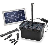 ESOTEC 100900 - Filtro solar para estanque (380 l/h, potencia de extracción + módulo solar de 8 W, juego completo para…