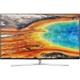 "Samsung UE49MU8000 49"" 4K Ultra HD Smart TV LED, Wi-Fi, 3840 x 2160 pixels, DVB-T2CS2, Argento"