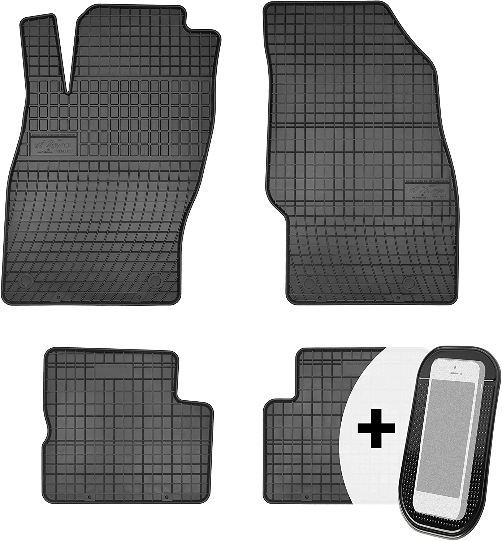 Moto Moltico Gummimatten Auto Fußmatten Gummi Automatten Passgenau 4 Teilig Set Passend Für Opel Corsa F Peugeot 208 Ab 2019 Auto