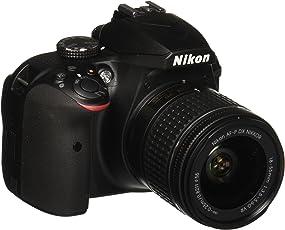 Nikon D3400 Kit Cámara Digital/Lente, Black