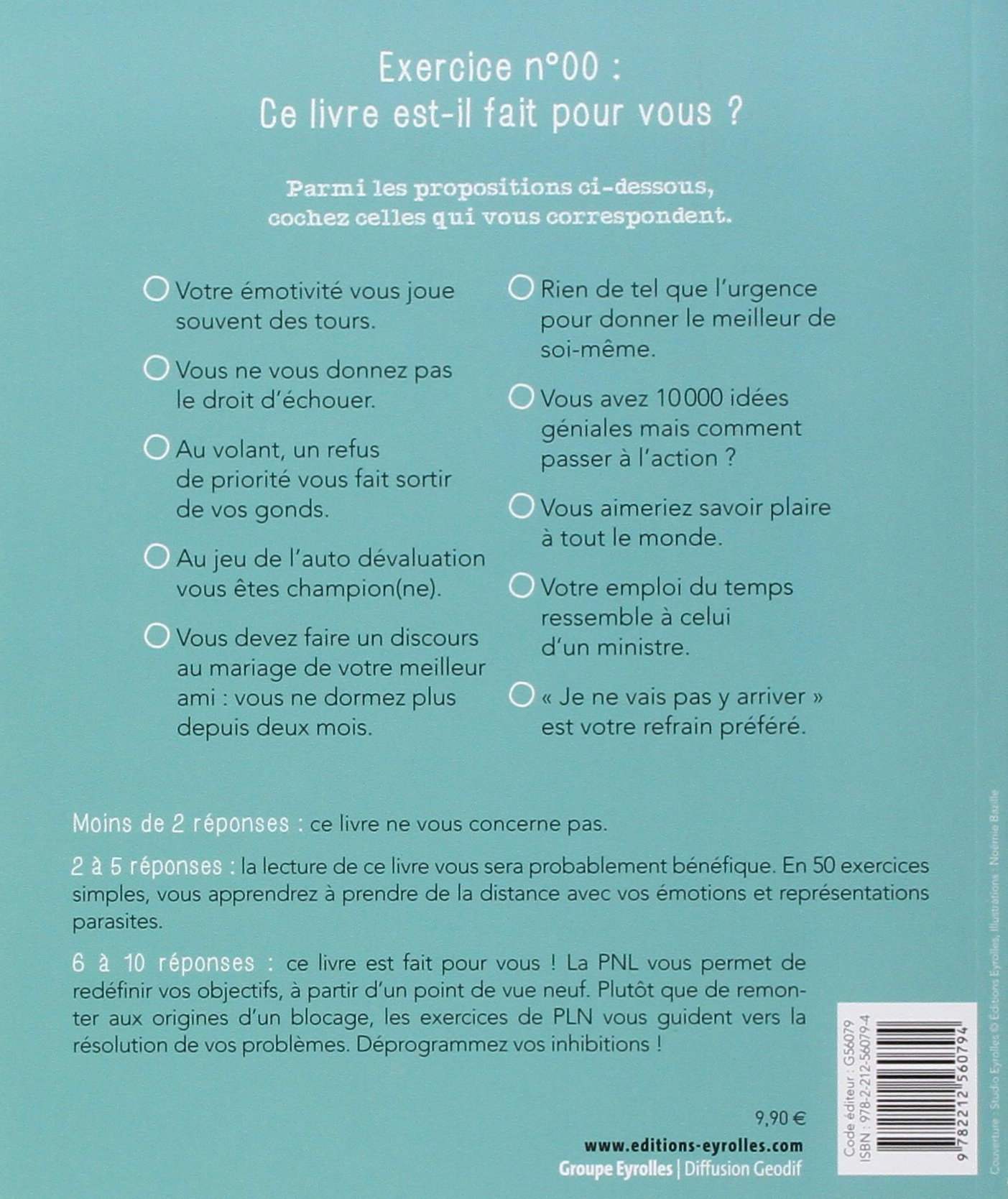 Amazon Fr 50 Exercices De Pnl Cudicio Catherine Livres