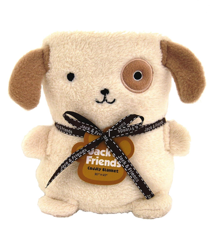 Amazon Jack & Friends Baby Toddler Cuddly Blanket Dog 30