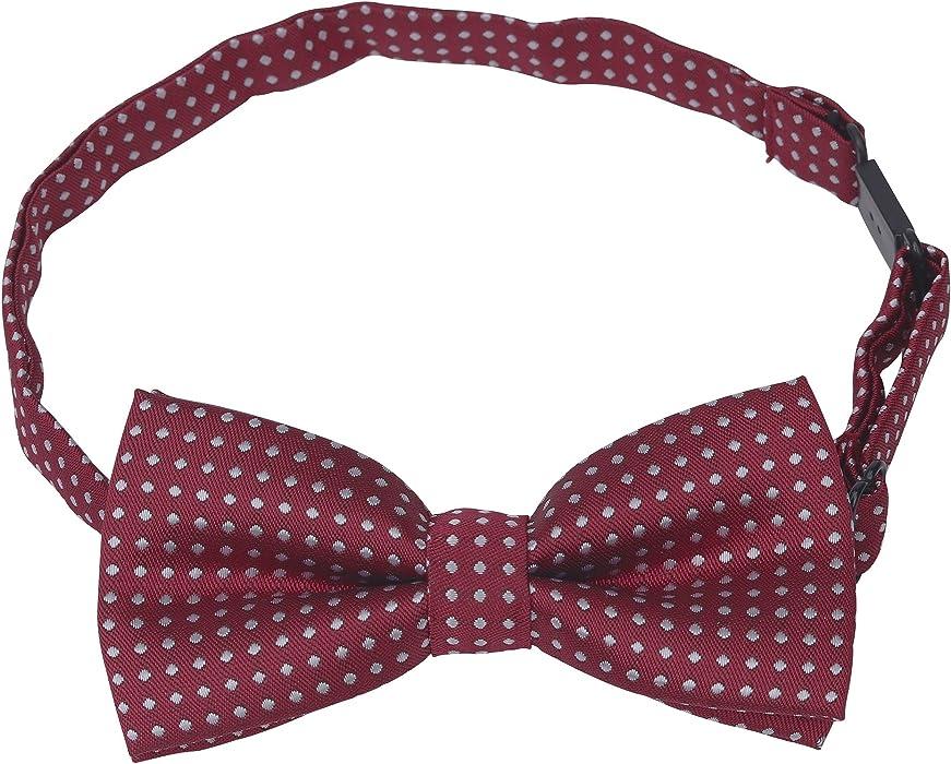Kids Girl Boys Polka Dot Party Wedding Show Bow Tie Adjustable Baby Bowtie Gift