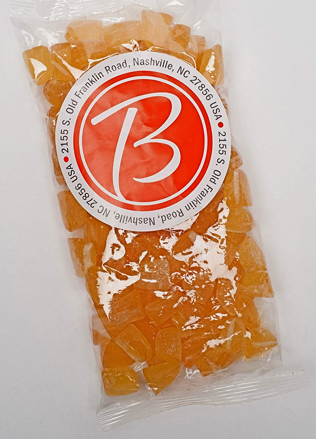 Butterfields Candy - Gourmet, Old-Fashioned Buds Hard Candy, Peach 1 lb bag  Bulk | Gluten Free |