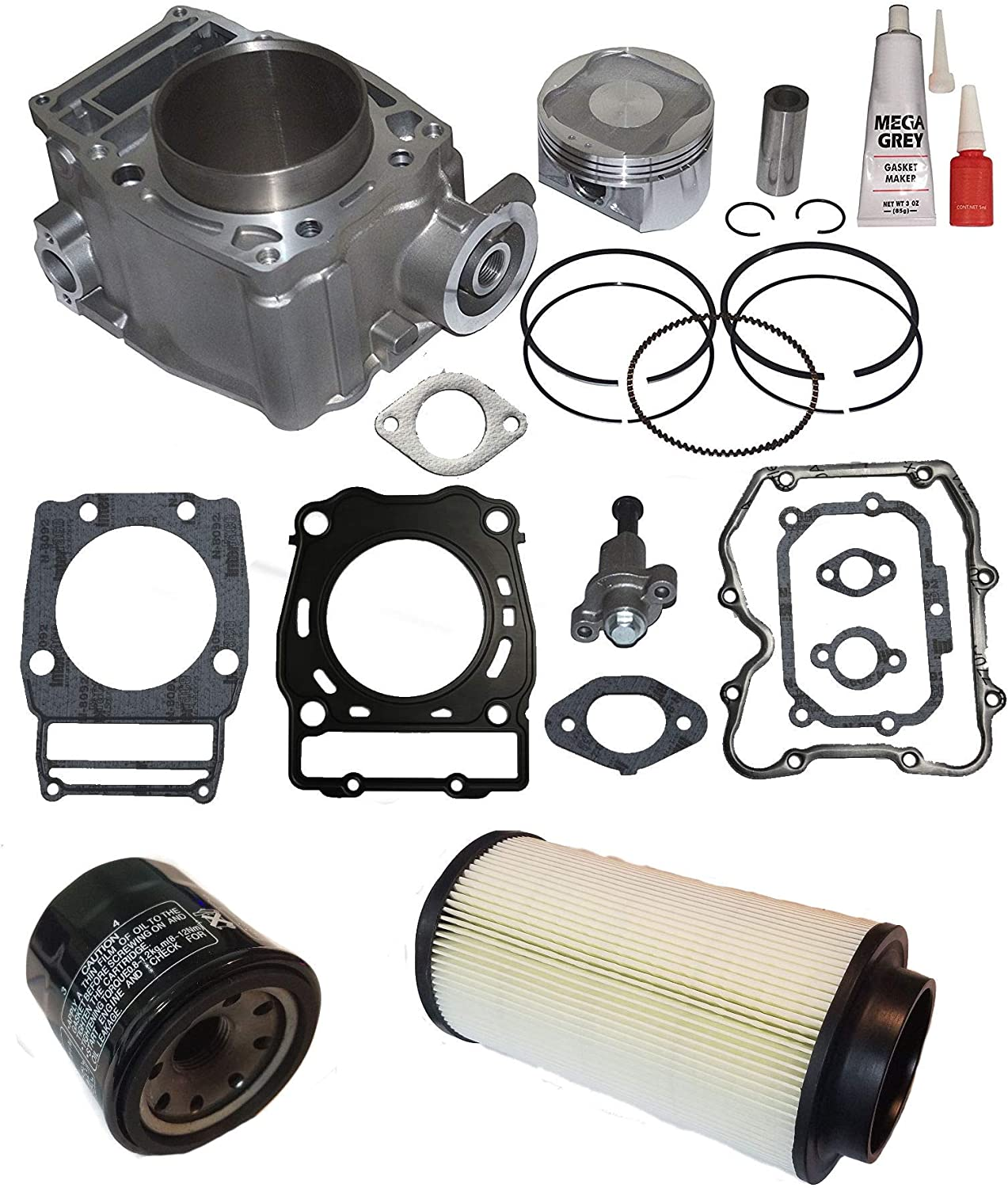 NEW POLARIS SPORTSMAN 500 4x4 HO CYLINDER PISTON GASKET KIT Fit Year 96-13