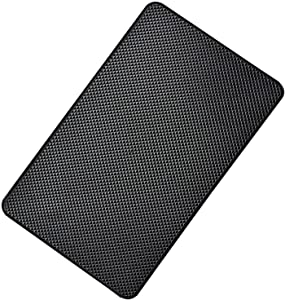 Hulless 11 x 7 inch Super Sticky Car Dashboard Anti Slip Mat Magic Anti Slip Mat Car Dashboard Sticky Pad Adhesive Mat for Cell Phone, CD, Electronic Devices, Keys, Sunglasses, etc, 1pcs.