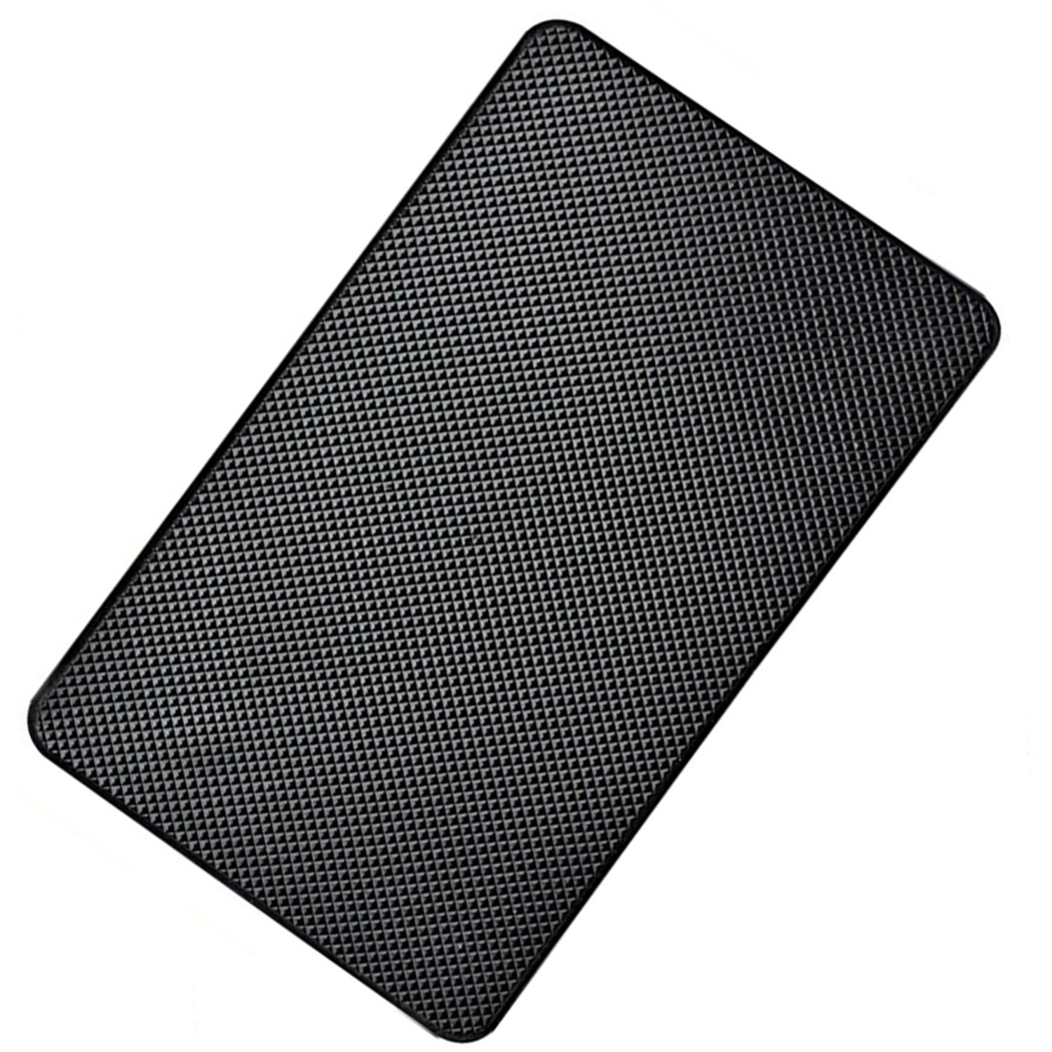 Hulless - Super Sticky 27 x 15cm Magic Anti-Slip Non-Slip Mat Car Dashboard Sticky Pad Adhesive Mat for Cell Phone, CD, Electronic Devices, iPhone, ,Keychains, Sun Glasses Holder, GPS - Black