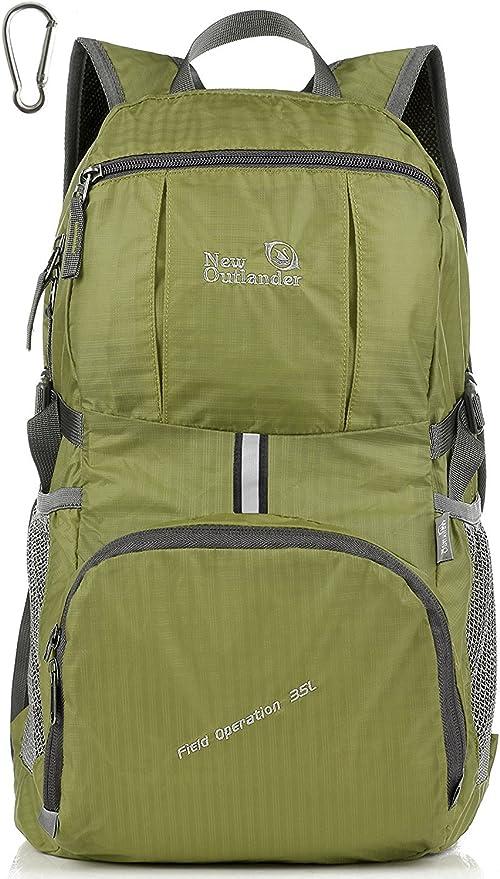 Gym Travel Bag Pack Outlander Packable Lightweight Backpack