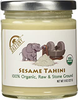 product image for Dastony, 100% Organic Sesame Seed Butter, 8 oz (227 g)