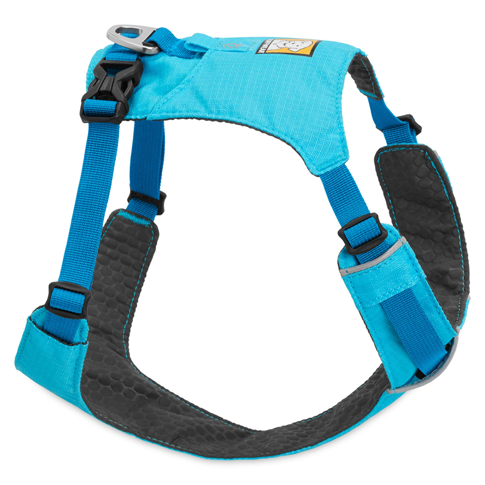 RUFFWEAR - RUFFWEAR, Hi & Light, Everyday Lightweight Dog Harness, Trail Running, Walking, Hiking, All-Day Wear, Blue Atoll, Large/X-Large