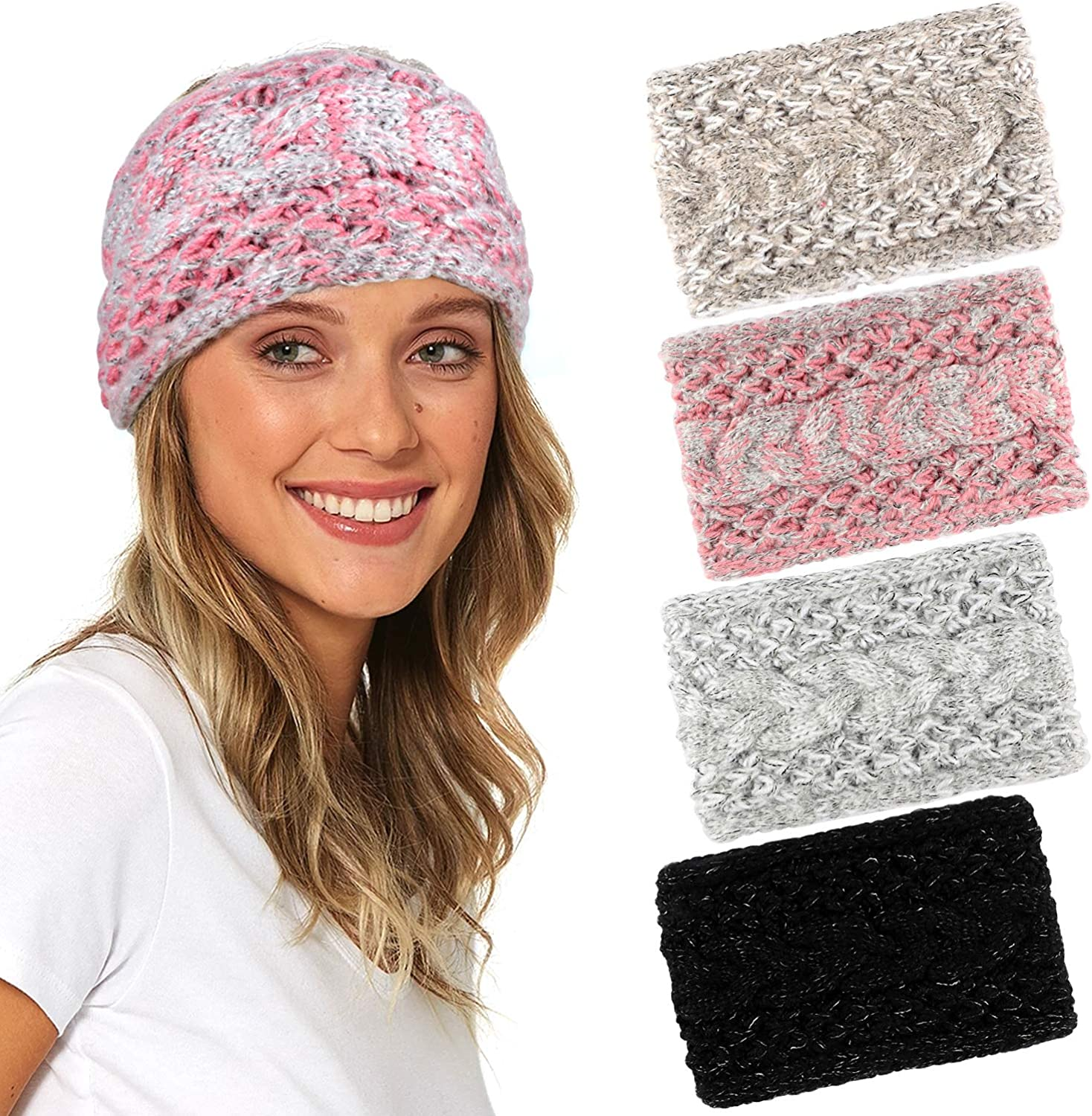 Cable Knitted Headbands...