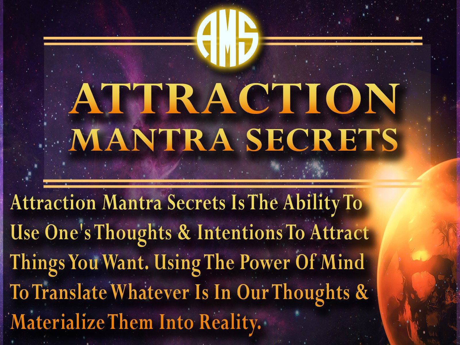 Amazon com: Watch Attraction Mantra Secrets - Discover The 7