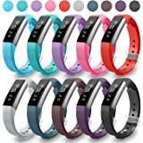 Fitbit Alta HR and Alta Bands, Greeninsync Fitbit Alta Replacement Bands Small Wristband Adjustable Smart Watch Strap for Fitbit Alta Accessory Band w/Metal Clasp and Ultrathin Fastener(10pack)
