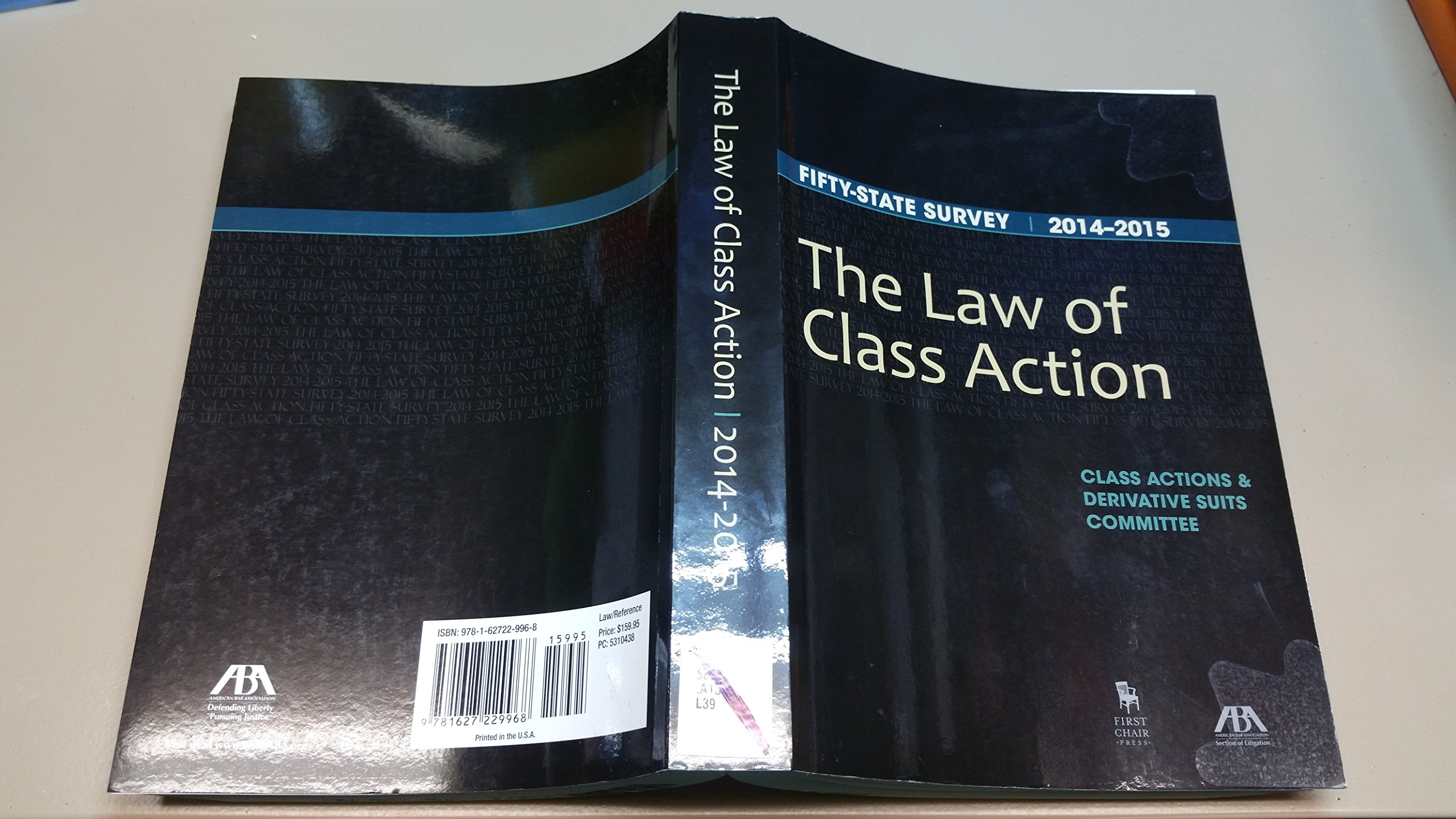 Download The Law of Class Action: Fifty State Survey 2014-2015 pdf epub