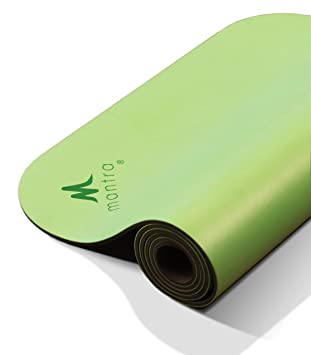 Mantra Style Lux Pro 28 Yoga Workout Mat Long,28 x 76 x 6.5mm, X-Wide Non-Slip, Cushioned Support for Exercise, Workouts, Stretching Pilates - Thick, ...