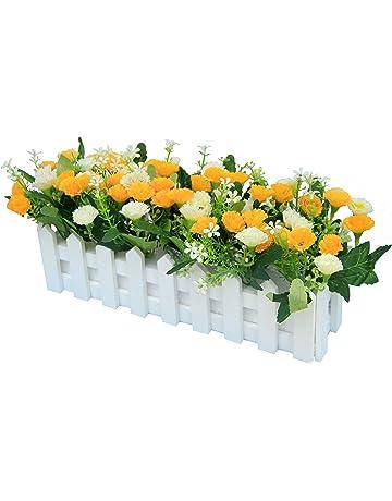Arreglos florales artificiales | Amazon.es