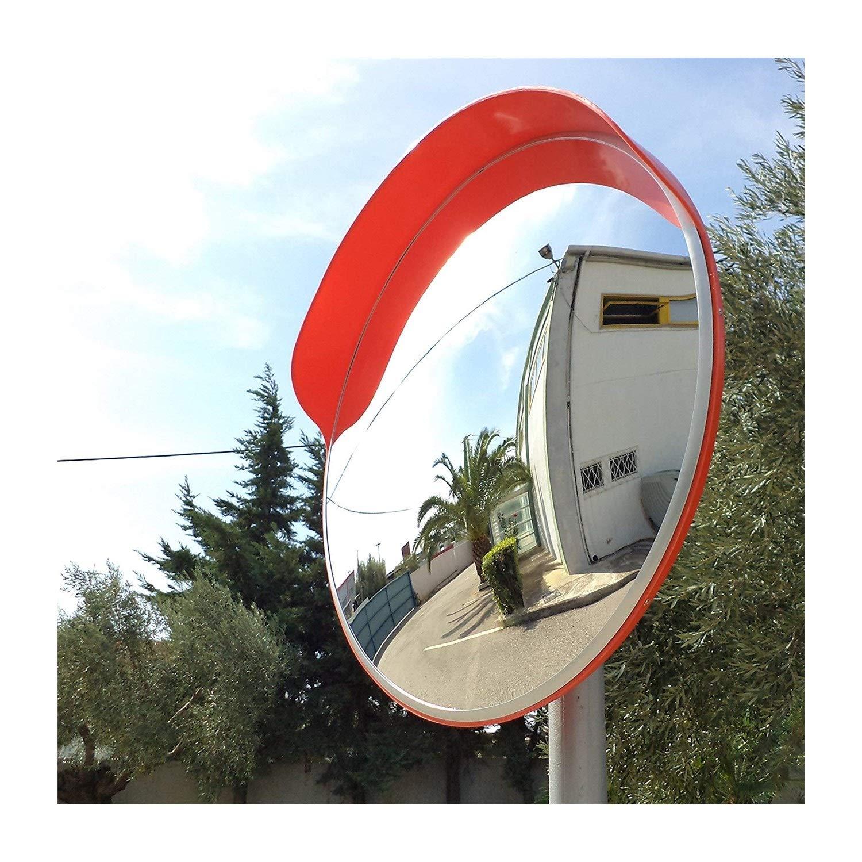 調節可能な固定金具が付いている広角の保証凸面鏡の頑丈な交通ミラー 624 (Size : 80cm) 80cm  B07TF6HNSG