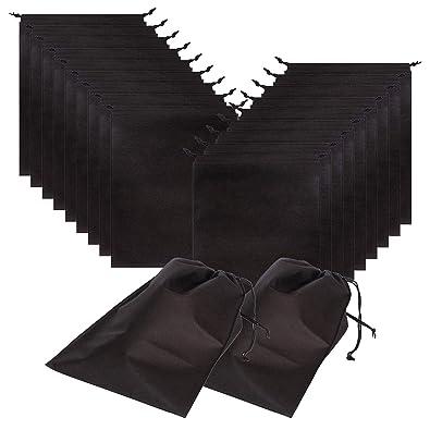 Amazon.com: Paquete de 20 bolsas de zapatos para viajes ...