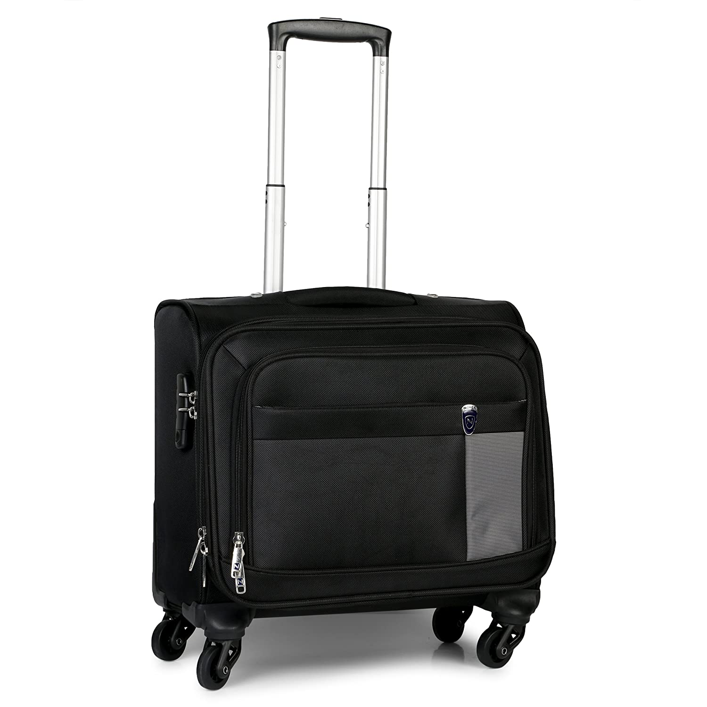 Novex Polyester 42 Ltr Black Laptop Roller Case