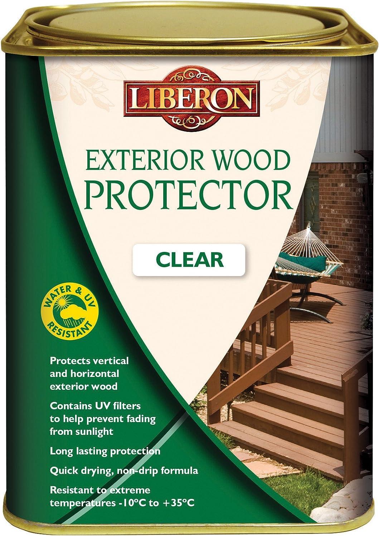 Liberon libewpc5l exterior de 5 L Madera Protector Transparente ...
