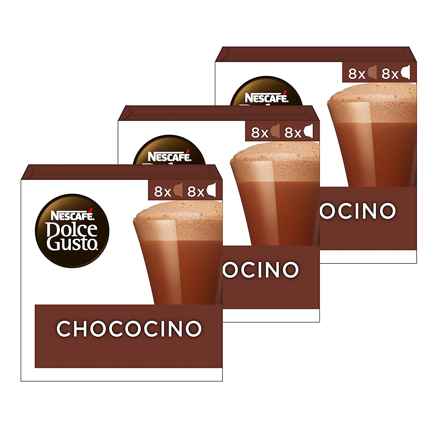 Nescafe Dolce Gusto Chococino 8 Per Pack Pack Of 2 Grocery Gourmet Food