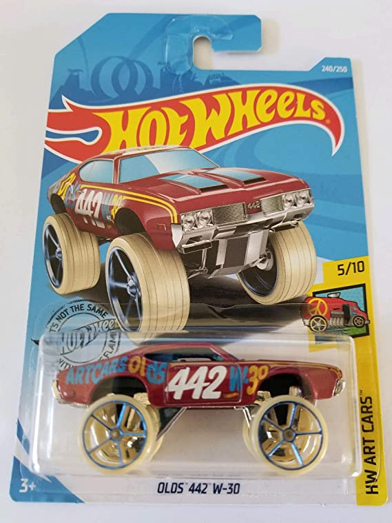 Hot Wheels 2019 Hw Art Cars Olds 442 W-30