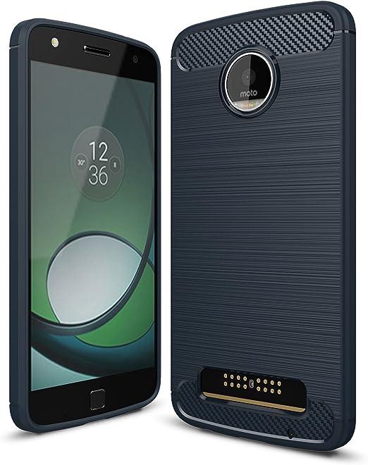Funda Motorola Moto Z Play,Gray Plaid Ultra-delgado Lightweight ...