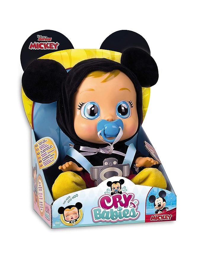 IMC Toys 97858 Mickey Mouse - Muñeca Bebés Llorones, Multicolor