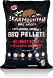Bear Mountain BBQ FK99 All-Natural Hardwood Smoky Gourmet Blend BBQ Smoker Pellets for Outdoor Grilling, 20 lbs