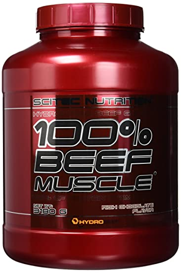 scitec nutrition beef muscle schokolade 1er pack 1 x 3 18 kg