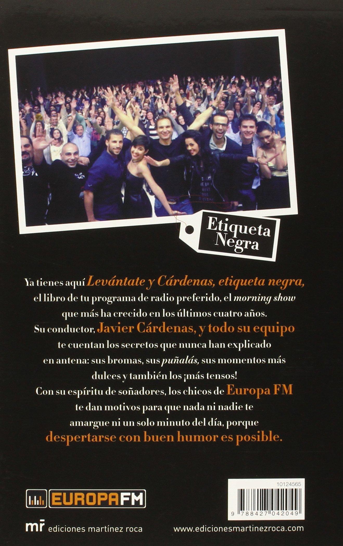 Levántate y Cárdenas: Etiqueta negra Fuera de Colección: Amazon.es ...