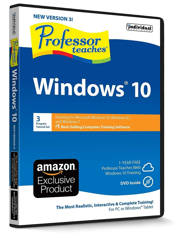 Amazon com: Professor Teaches Windows 10 - Version 3