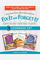 Fix-It and Forget-It New Slow Cooker Magic Box Set: Over 1,300 Classic, New, and Healthy Slow Cooker Recipes Kindle Edition