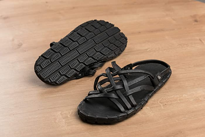 e587c91477d64 Amazon.com  African Sandals - Handcrafted Recycled Tyre Mens Sandals ...