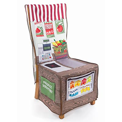 Little Adventures LA-64013-NG Little Grocery Market Chair Cover: Industrial & Scientific