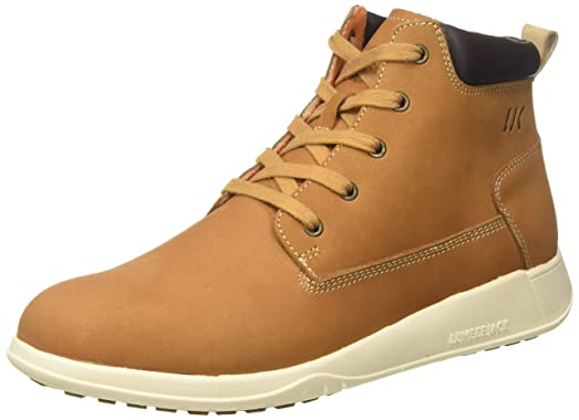 Latest Lumberjack Try Beige Ankle Boots for Men Sale Online