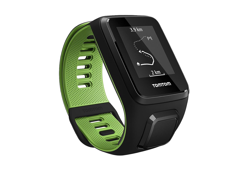 TomTom Runner 3 Basico Grande Negro//Verde L Reloj