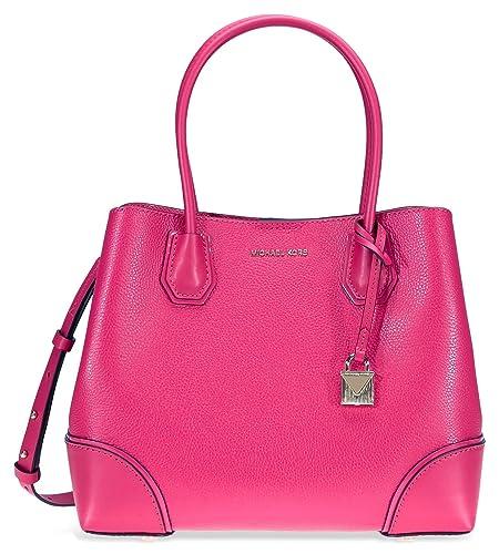 1d76dfaadf03f4 Michael Kors Womens Annie Satchel Pink (Ultra Pink): Amazon.co.uk: Shoes &  Bags