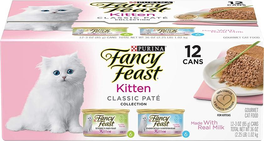 Amazon Com Purina Fancy Feast Grain Free Pate Wet Kitten Food
